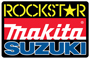 ROCKSTAR MAKITA SUZUKI SX TEAM SET FOR HOME DEPOT APPEARANCE