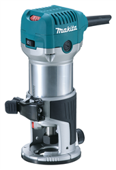 NEW MAKITA 1-1/4 HP ROUTER DELIVERS BIG PERFORMANCE & PRECISION IN A MORE COMPACT SIZE