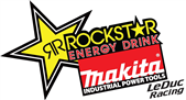 ROCKSTAR ENERGY DRINK / MAKITA TOOLS LEDUC RACING SURPRISES THE COMPETITION AT SPEEDWORLD