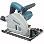 "MAKITA'S 6-1/2"" PLUNGE CIRCULAR SAW DELIVERS PRECISION ACCURATE CUTTING FOR A SPLINTER-FREE MIRROR FINISH"