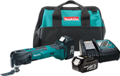 CONTRACTORS GET LONGER RUN TIME AND ADDED CONVENIENCE WITH NEW 18V LXT® MULTI-TOOL