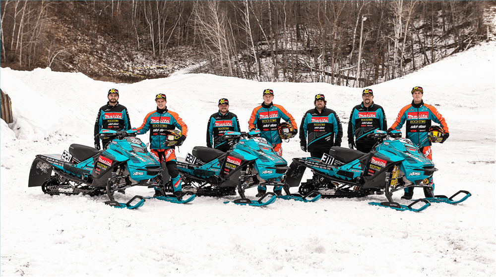 MAKITA HITS THE RACE TRACK AGAIN WITH SPONSORSHIP OF WARNERT SNOCROSS RACING TEAM