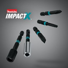 MAKITA HITS BACK AT STANDARD FASTENING BITS WITH IMPACT X