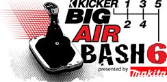 KICKER BIG AIR BASH, CO-SPONSORED BY MAKITA, TO AIR ON VERSUS' FUSION TV THIS MONTH