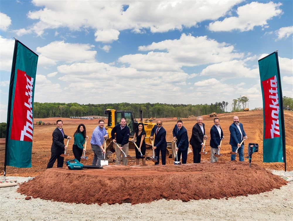 MAKITA U.S.A. BREAKS GROUND ON MAJOR EXPANSION IN ATLANTA REGION