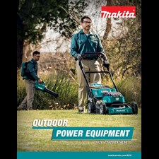 MAKITA U.S.A. RELEASES 2021 OUTDOOR POWER EQUIPMENT AND CLEANING SOLUTIONS CATALOGS