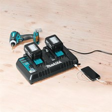 """""""REAL TOOL REVIEWS"""" GETS AN EARLY LOOK AT THE NEW 18V DUAL PORT CHARGER"""