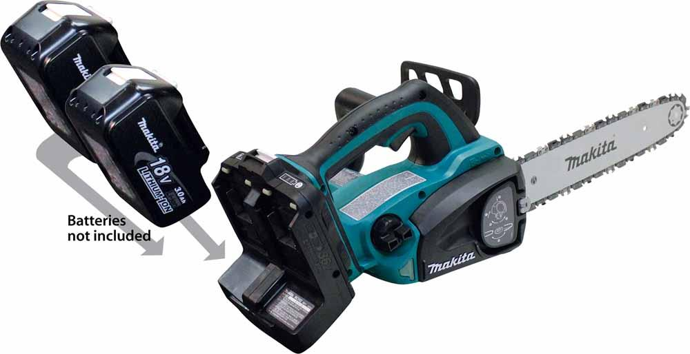 Makita cordless and corded power tools power equipment new hcu02zx2 chain saw delivers power and run time of 36v but without leaving the 18v platform greentooth Image collections