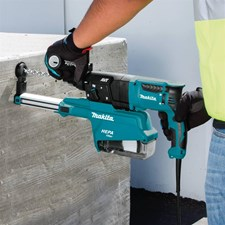 "MAKITA® 1"" ROTARY HAMMERS DELIVER PERFORMANCE, LESS VIBRATION, AND DUST EXTRACTION"