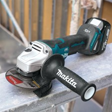 MAKITA EXPANDS 18V LXT BRUSHLESS GRINDER LINE-UP
