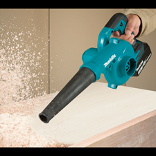 TWO NEW MAKITA 18V LXT CORDLESS BLOWERS DESIGNED FOR FAST CLEAN-UPS
