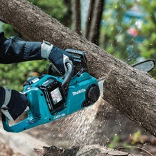 MAKITA CORDLESS CHAIN SAW ENGINEERED FOR GAS SAW PERFORMANCE