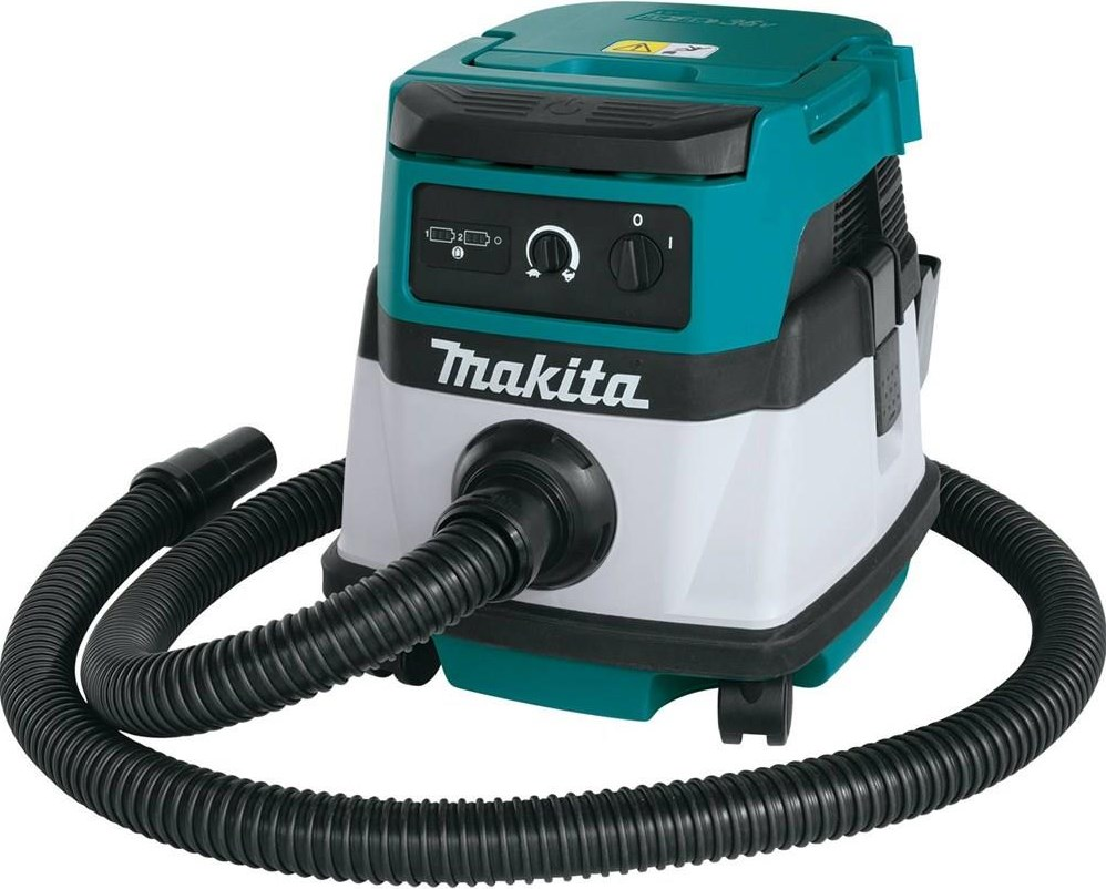 MAKITA 18V CORDLESS/CORDED VACUUM MEETS DEMAND FOR CONVENIENT CLEAN-UPS AND DUST EXTRACTION