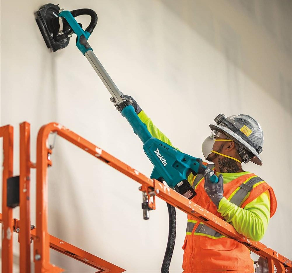 MAKITA ANNOUNCES WORLD'S FIRST CORDLESS DRYWALL SANDER