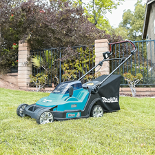 MAKITA LAUNCHES NEW POWERFUL LXT BRUSHLESS LAWN MOWER