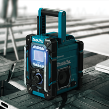 MAKITA LAUNCHES 18V LXT AND 12V MAX CXT CORDLESS BLUETOOTH JOB SITE RADIO-CHARGER AND SPEAKER