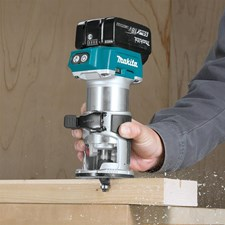 NEW MAKITA 18V LXT BRUSHLESS ROUTER DELIVERS SMOOTH PERFORMANCE, PRECISION, AND FREEDOM FROM THE CORD