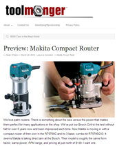 TOOLMONGER PREVIEWS THE NEW COMPACT ROUTER KIT