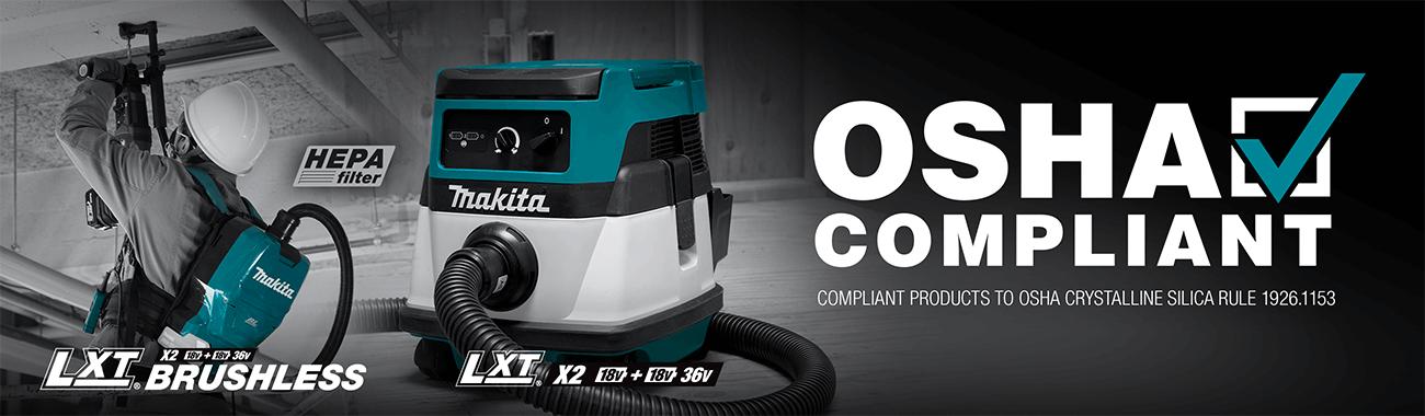Makita New Vacuums