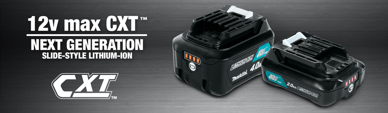 12V max CXT™ Next Generation Slide-Style Lithium-Ion
