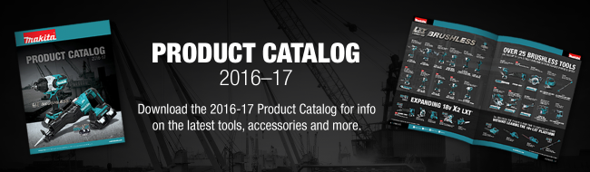 2016 Makita Product Catalog